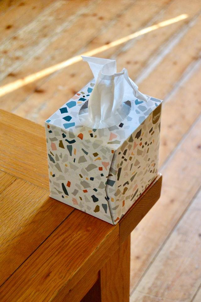 Offrez vous une boîte à mouchoirs originale