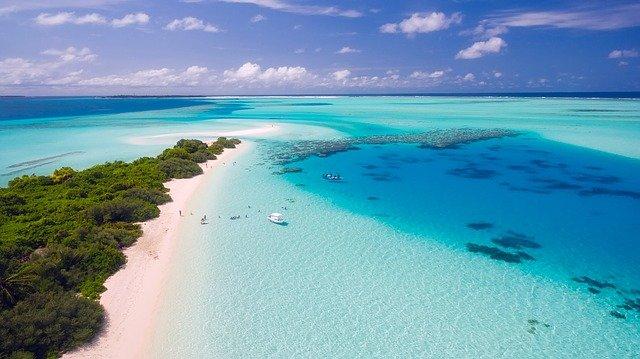 gratter votre carte du monde après votre voyage aux Maldives