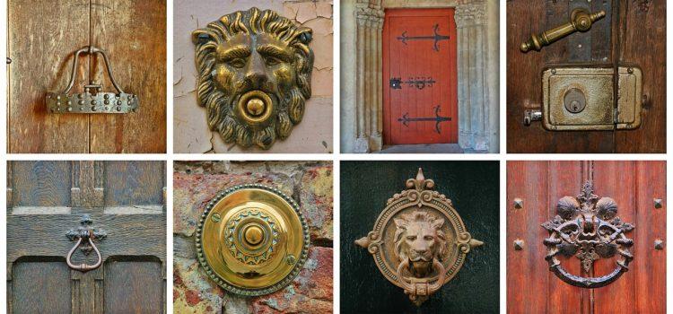 Les différents types de poignées de portes
