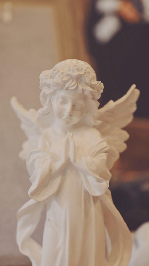 Décorer avec un statue d'ange